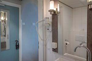 Bathroom hair dryer